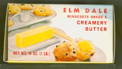 Elm Dale Creamery Association Butter Box - Side 2