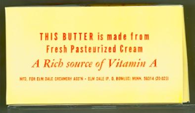 Elm Dale Creamery Association Butter Box - Side 4