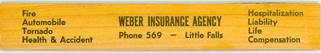 Weber Insurance Agency of Little Falls, Minnesota