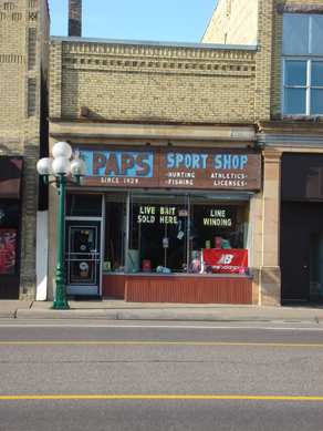Paps Sport Shop, Little Falls, MN
