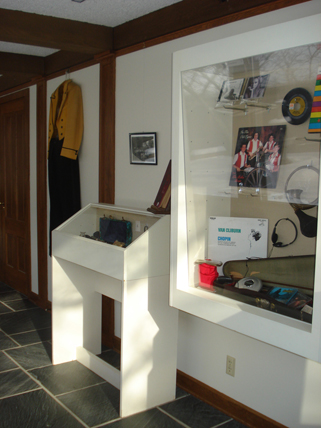 A portion of the Music & the Technology of Sound exhibit at the Weyerhaeuser Museum, January 20, 2010.