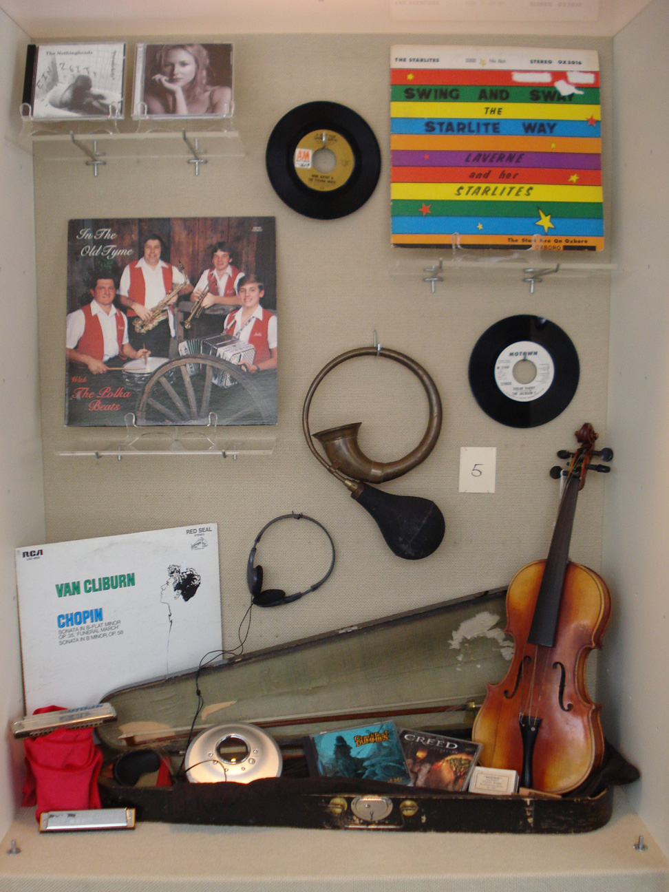 Albums, CDs, and Instruments