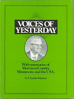 Front cover: Voices of Yesterday