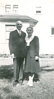 John & Agnes Vertin, Little Falls, MN, undated photo from the collections of the Morrison County Historical Society.