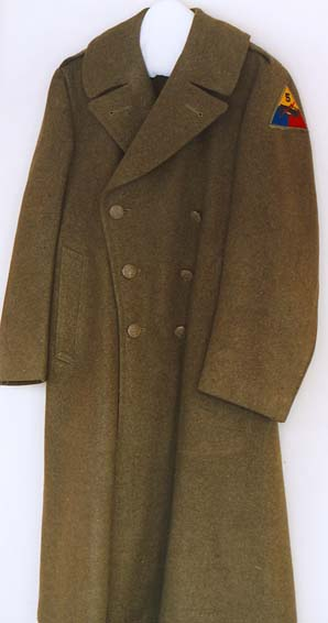 Urban Posers Korean War uniform coat. Photos by Mary Warner, c. 2006, Morrison County Historical Society.