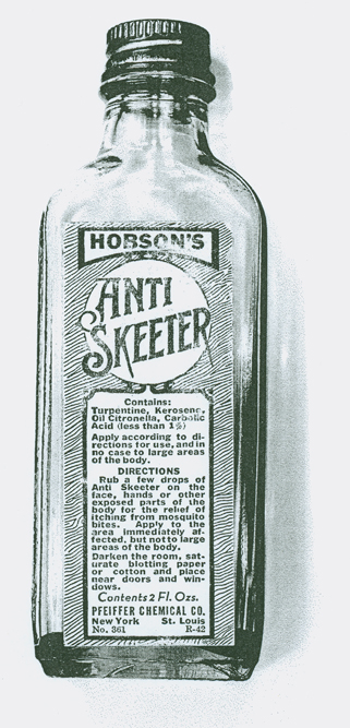 Hobsons Anti Skeeter Bottle