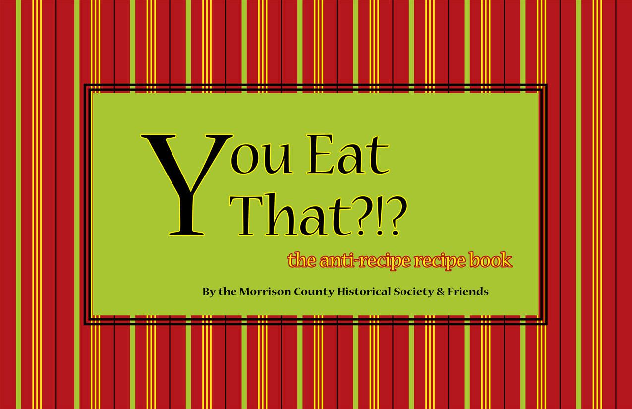 You Eat That?!? Red & green striped cover